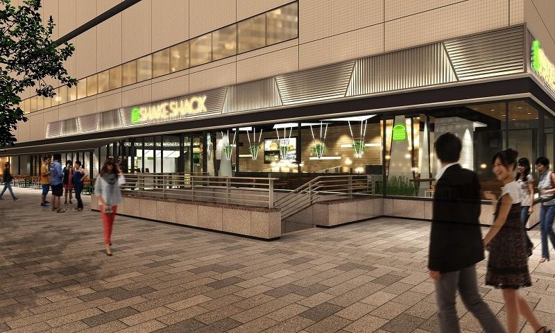 シェイクシャック クラフトビール ハンバーガー 横浜