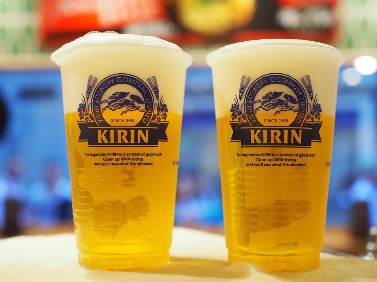 一度注ぎ 三度注ぎ キリンビール